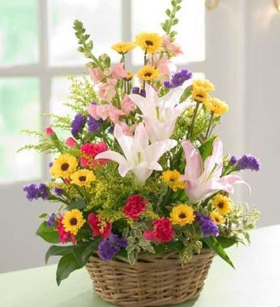 Premium Flower Basket