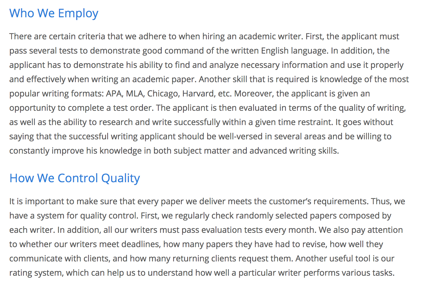 CheapWritingHelp.com - Academic Writing Service that Cares