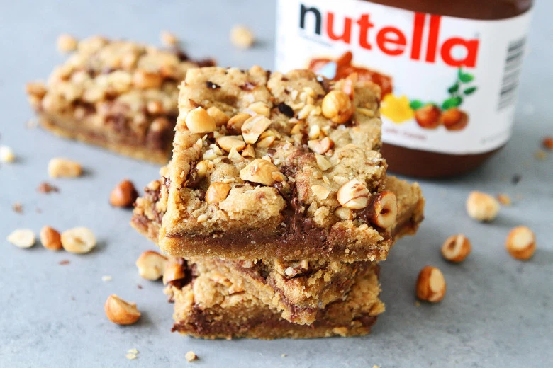 Nutella Hazelnut Cookies Preparation