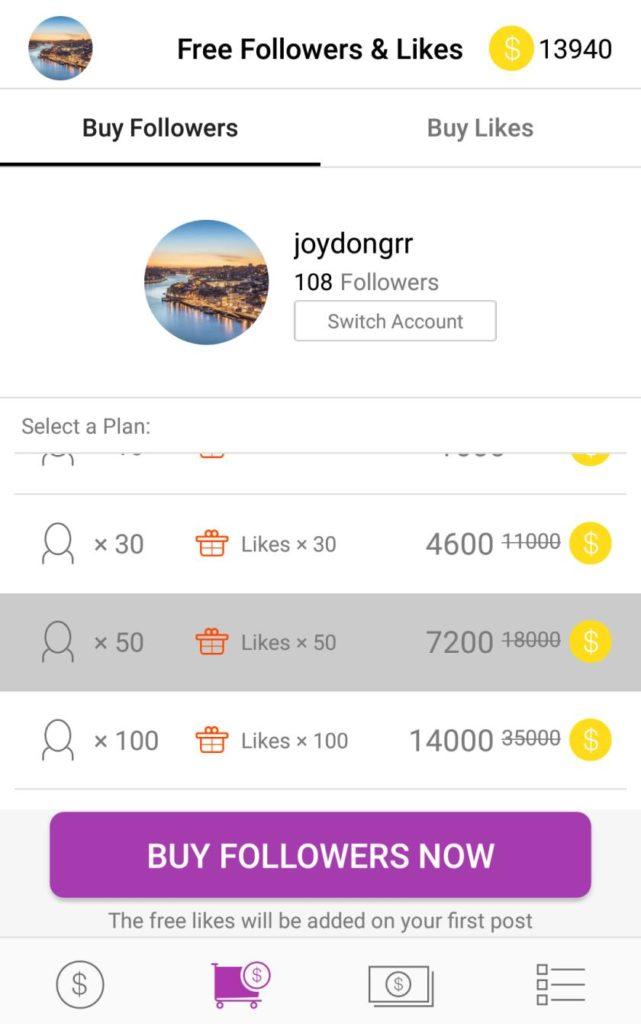 GetInsta: Best Instagram followers & like increasing app