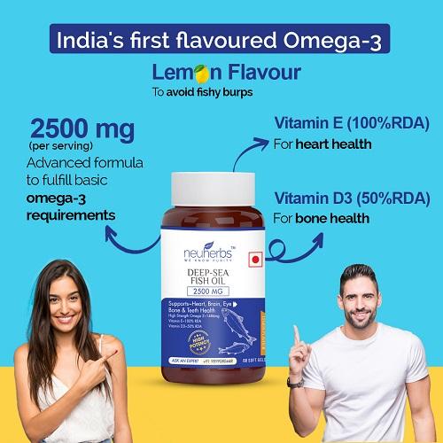 Neuherbs Omega 3 Fish Oil